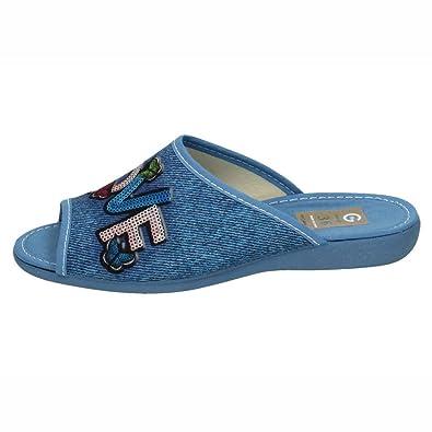 GEMA GARCIA 7439-3 Zapatillas DE CASA Mujer Zapatillas CASA AGUAMAR 36