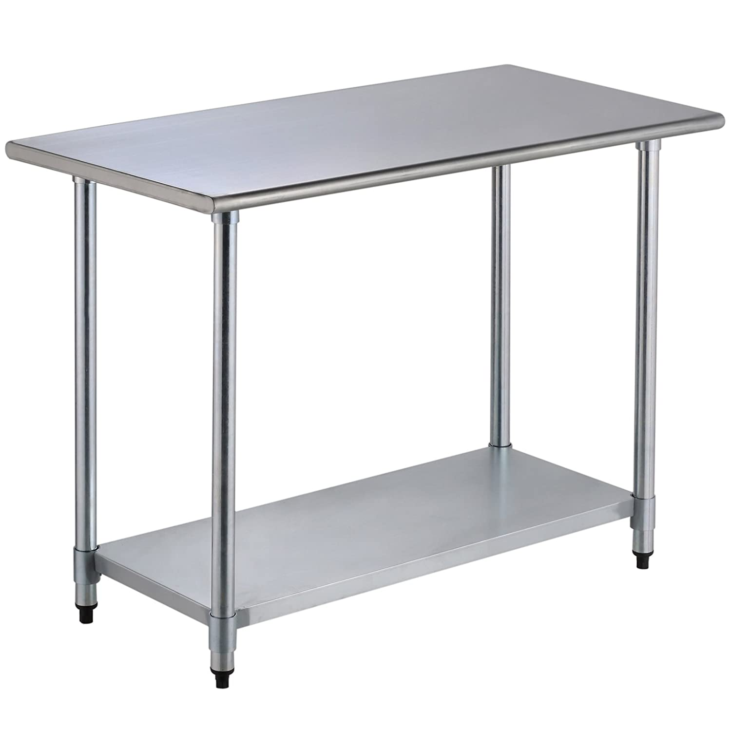 "Amazon Uenjoy 24"" x 48"" mercial Stainless Steel Work Food"