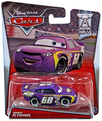 Disney/Pixar Cars Manny Flywheel (N2O Cola) Vehicle - Car Flywheel
