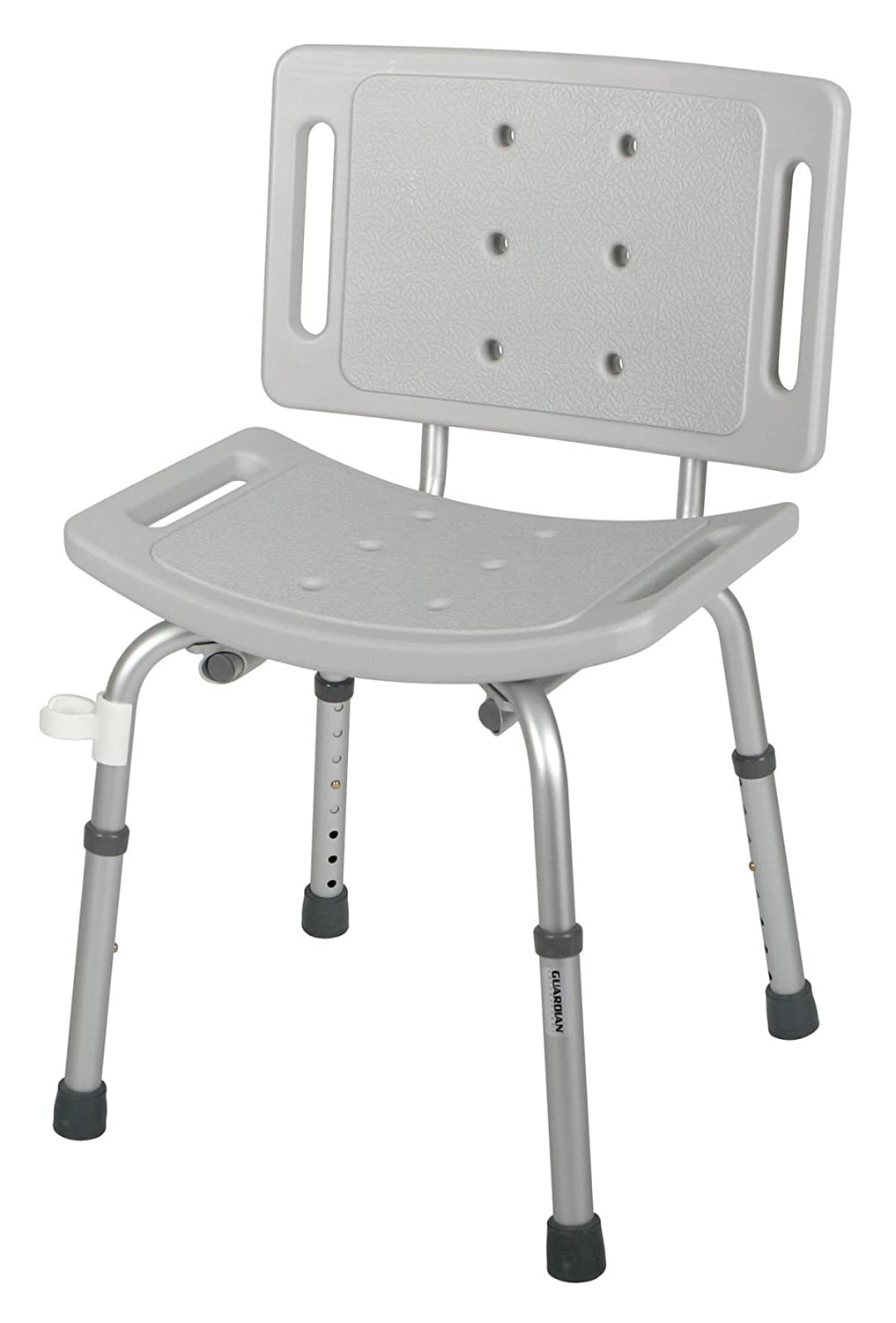 Amazon.com: Guardian Shower Chair with Back: Health & Personal Care