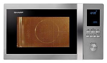 Sharp r-982stwe Horno Microondas Ventilado Capacidad 42 L + Grill Potencia 1000 W
