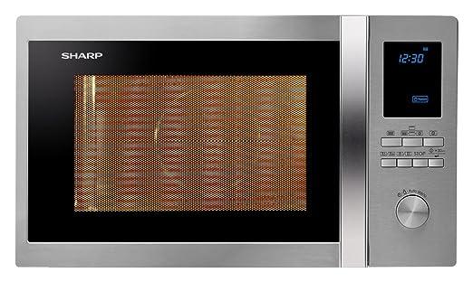 Sharp r-982stwe Horno Microondas Ventilado Capacidad 42 L + Grill ...