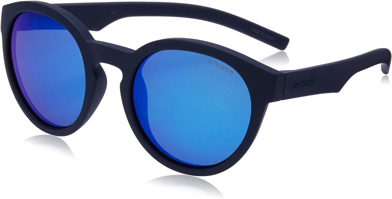 Polaroid PLD 8019/S JY CIW Gafas de sol, Azul (Rubber Blue/Grey), 45 Unisex Niños