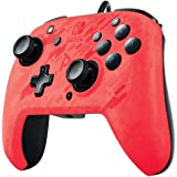 PDP Nintendo Switch Faceoff Deluxe+ Audio Wired Controller - Red Camo, 500-134-NA-CM04 - Nintendo Switch