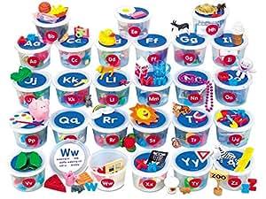 Lakeshore Alphabet Sounds Teaching Tubs
