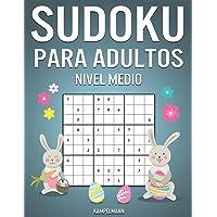 Sudoku Para Adultos Nivel Medio: 400 Sudoku para Adultos de Nivel Medio con Instrucciones y Soluciones - Edición de…
