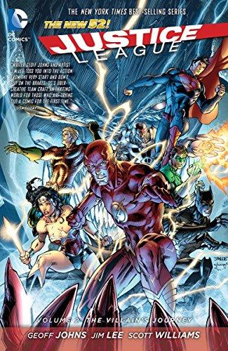 Justice League Comic (Justice League Vol. 2: The Villain's Journey)