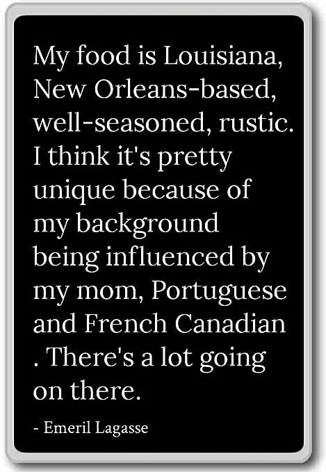 Amazon.com: My food is Louisiana, New Orleans-based, wel ...