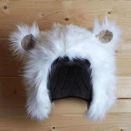 Adults /& Kids UK STOCK! Polar Bear Ski Helmet Cover