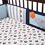 lambs and ivy baby bedding bumper - Lambs & Ivy Future All-Star Bumper
