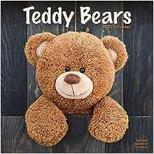 Teddy Bears Wall Calendar 2021 by Avonside