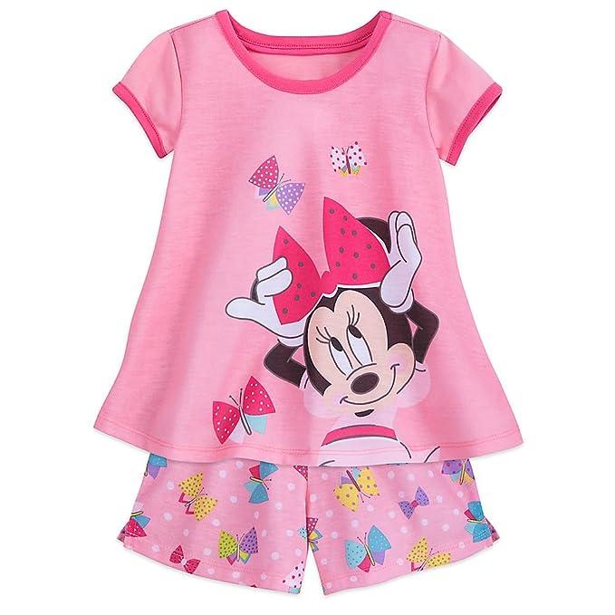 Amazon.com: Disney Minnie Mouse conjunto de pijama para ...