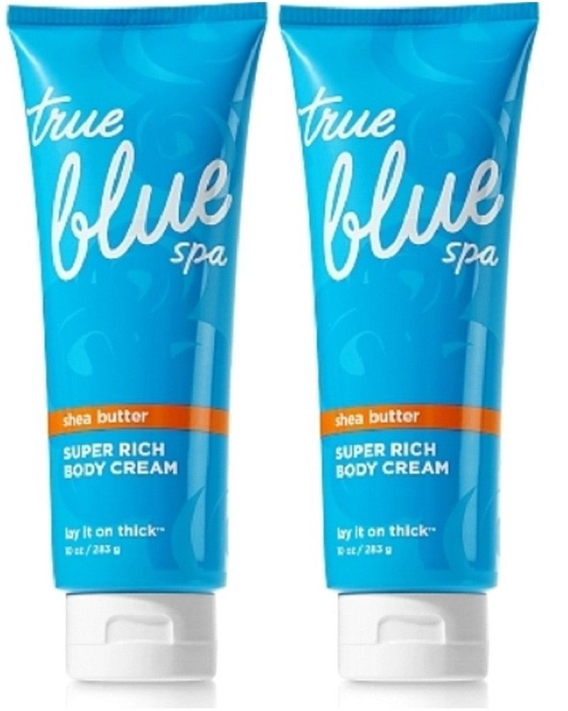 Amazon.com : Bath and Body Works True Blue Spa Lay It On Thick Super ...