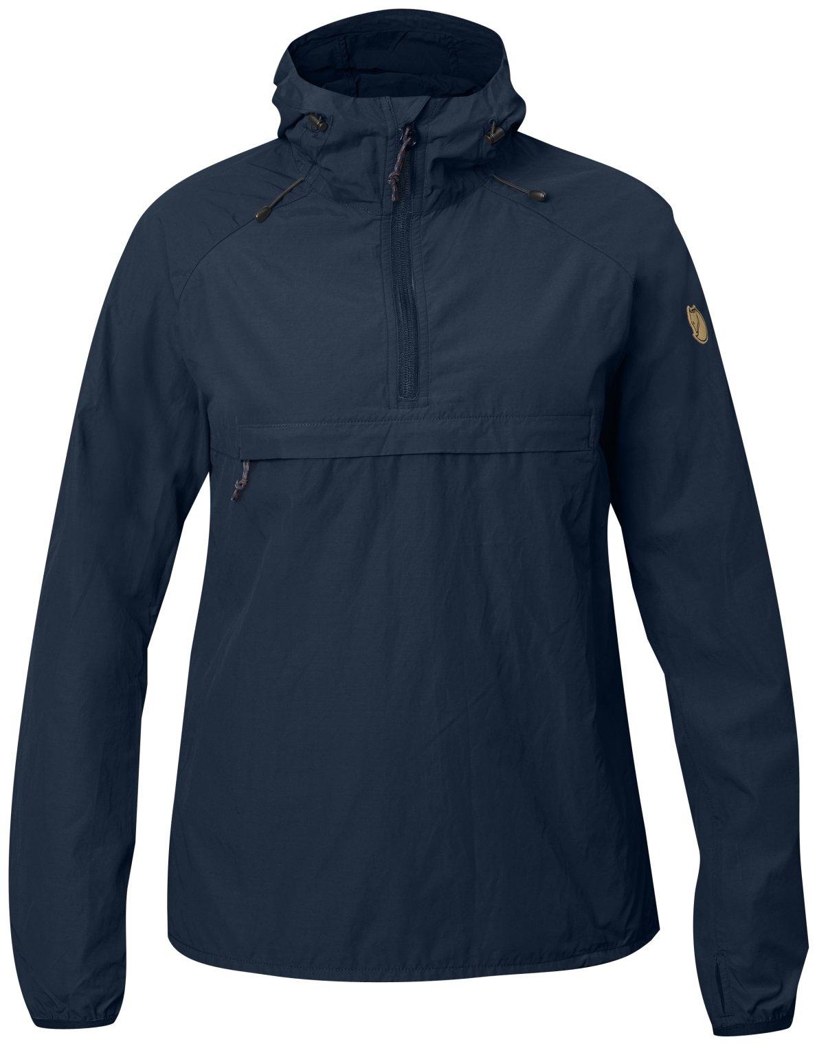 Fjallraven Women's High Coast Wind Anorak Jacket, Navy, 2XS