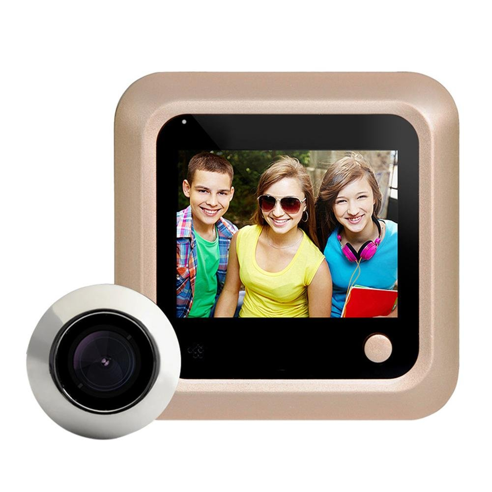 2.4 inch Doorbell HD Screen Video Door Phone Intercom System SIKIWIND 2.0MP Digital Peephole Viewer Doorbell