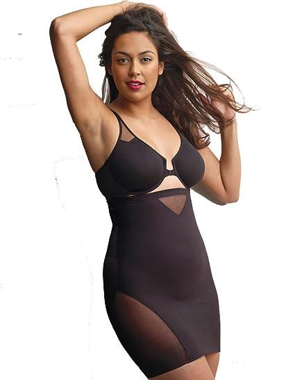 834175b75a321 Miraclesuit Shapewear Sexy Sheer Black Hi-Waist Slip 2784  Miraclesuit  Shapewear  Amazon.co.uk  Clothing