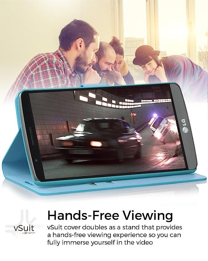 Amazon.com: LG G4 Funda – Vena® [vSuit] Draw Bench PU Piel ...