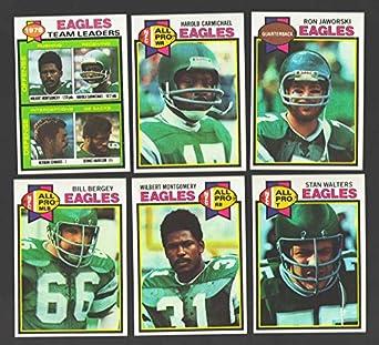 aa68fe9ec Amazon.com  1979 Topps Football Team Set - PHILADELPHIA EAGLES ...