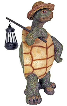 DWK Country Roads Light Turtle Figurine