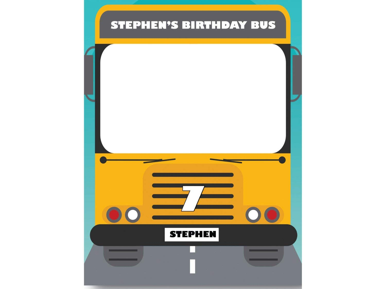 Amazoncom Magic School Bus Birthday Photo Booth Prop Sizes 36x24