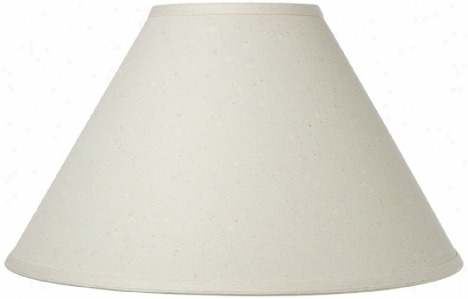 Upgradelights Off White Linen 12 Inch Chimney Style For Hurricane & Oil Lamp Shade Replacement (4x12x7)