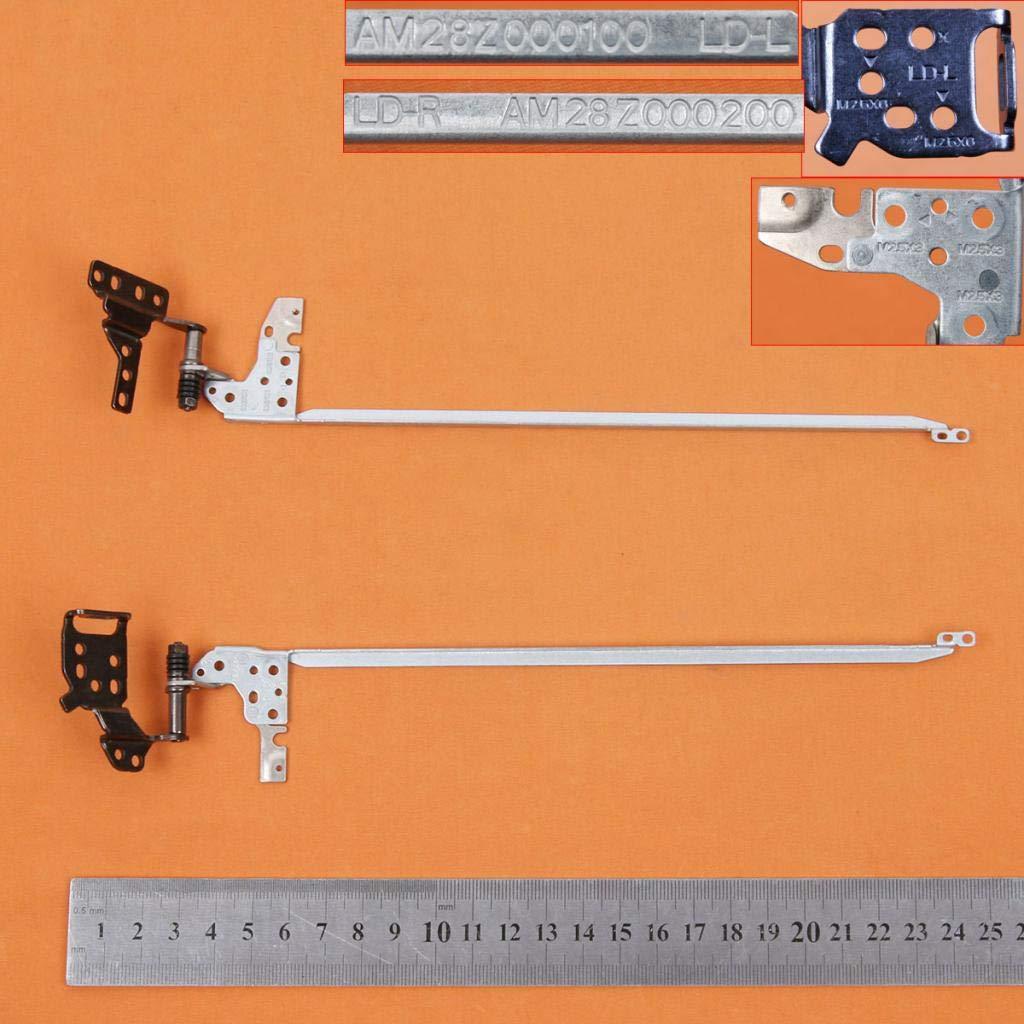 Homyl Bisagras de Pantalla LCD L R de Computadora Port/átil para Acer Aspire 5 A515-51 A515-51G