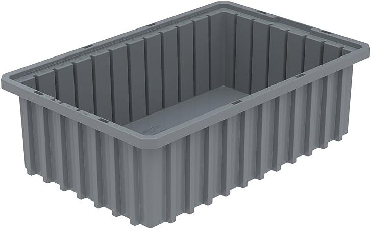 AKRO-MILS 33165GREY Divider Box,Gray,35 lb.