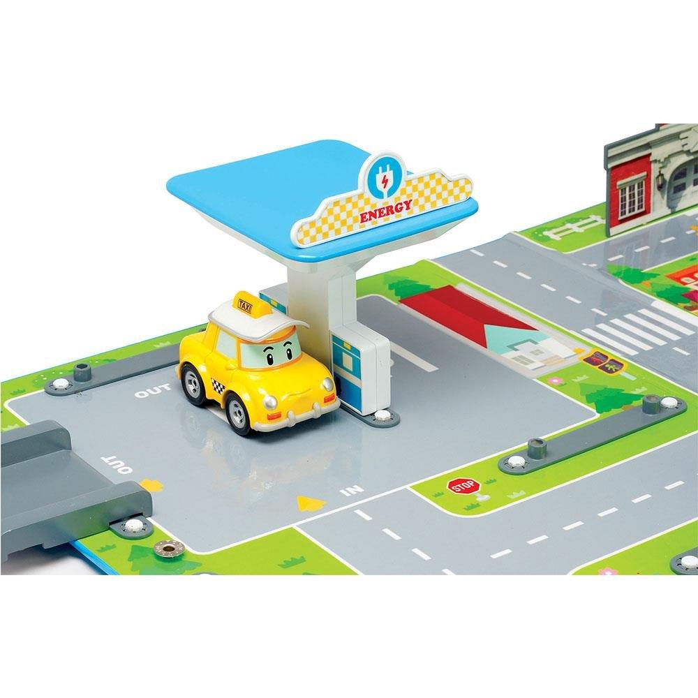 83248 Robocar Poli Aire De Jeu Station Service
