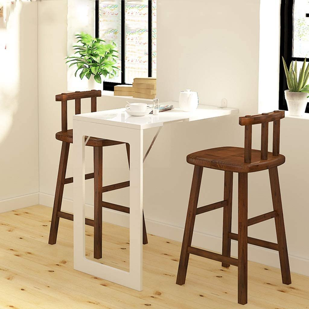 - Folding Dining Table Wall-Mounted Folding Table For Small Spaces