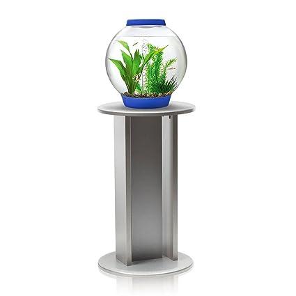 Bebé biOrb 15L A estándar de acuario en azul oscuro con iluminación LED y soporte de