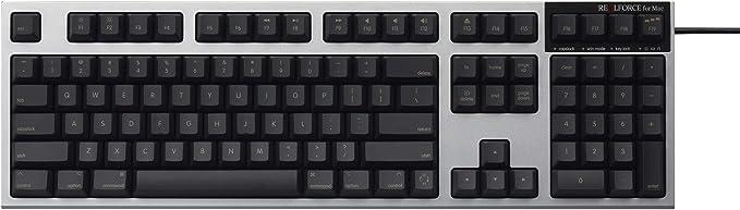 東プレ REALFORCE for Mac フルキーボード「PFU Limited Edition」英語配列(ブラック) R2SA-US4M-BK