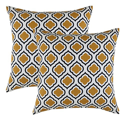 TreeWool,  Clover Accent Throw Pillow Covers in Soft Cotton