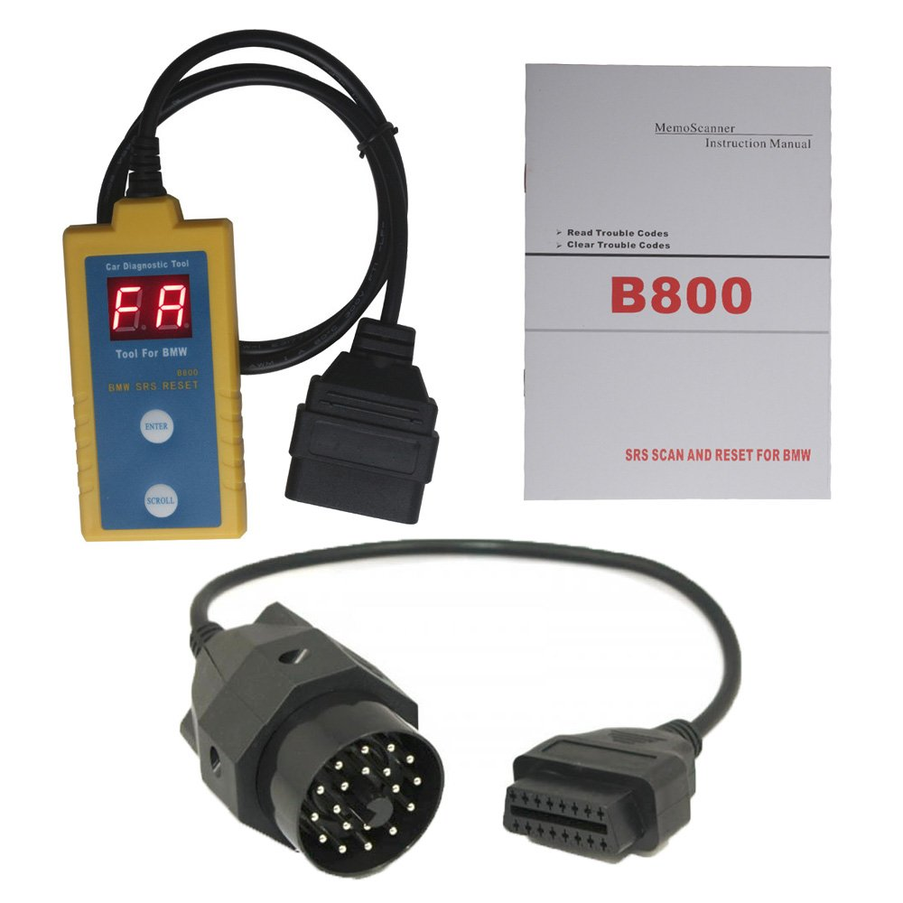 Bmw Airbag Scan Reset Tool B800 Automotive 1994 5 Series Belt Diagram Wiring Schematic
