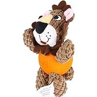 Akcesoria dla psów domowych- Lew Shape Bonding Toy Pies Bite Zabawki Edukacyjne Gra Doll Creative Pet Training Toy…