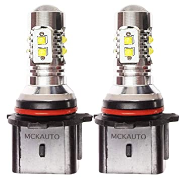10SMD CREE 50W luces de conduccin diurna Bombillas LED Canbus xenn DRL P13W eb4r6: Amazon.es: Coche y moto