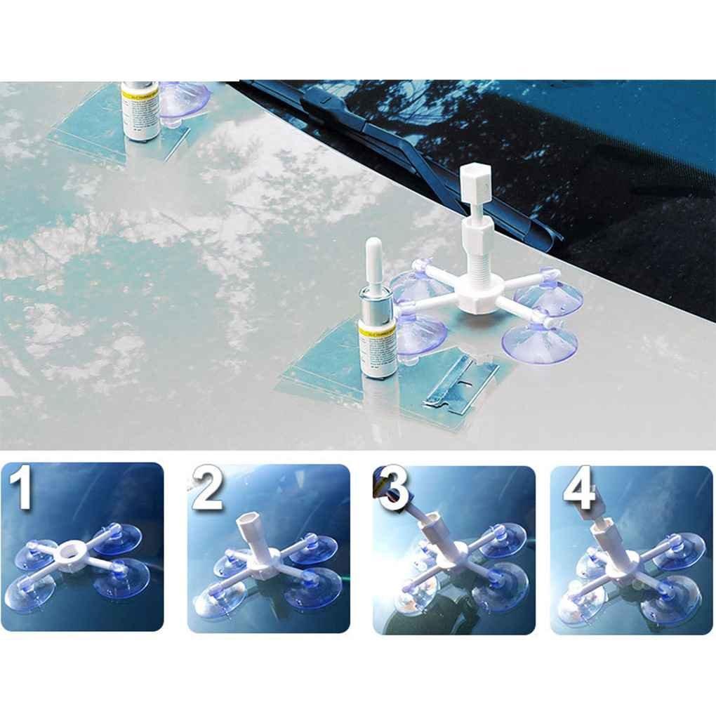 Aiming Fix Set Pare-Brise en Verre Pare-Brise Outil de r/éparation de Pare-Brise en Verre Kit de r/éparation Repair Tool Set fen/être de Polissage