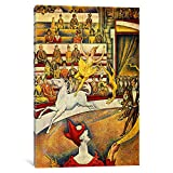 Museum quality The Circus By Georges Seurat Canvas Print. The art piece comes gallery wrapped, ready for wall hanging with no additional framing required. This print is also available in multi-piece or oversized formats, perfect for decorating large ...