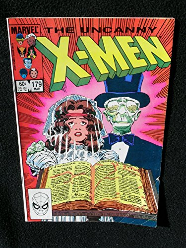 Uncanny X-Men #179 Comic Book