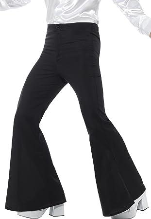 Smiffys Smiffys-48191L Pantalones de Campana para Hombre ...