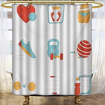 Cortinas de Ducha con Estampado Digital, diseño de Pop, Estilo ...
