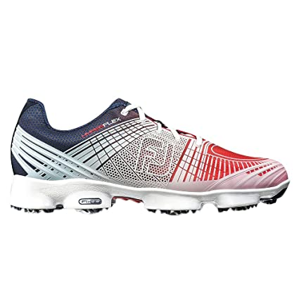 quality design 08f44 5d523 FootJoy Hyperflex II Golf Shoes 51033 Red White Blue - 8.5 MEDIUM