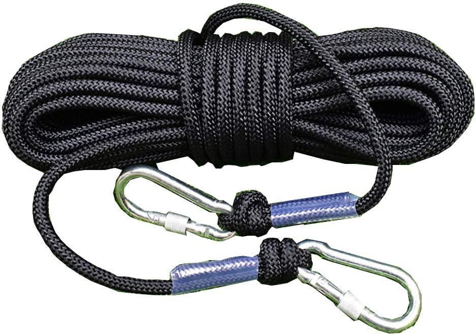 Nylon Cuerda, Cuerda De Fuego, Diámetro 10 Mm, Negra ...