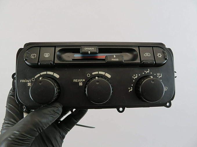 Hiscarpart #8821E Caravan OEM Dash Temp AC Heat AIR Climate Control Switch