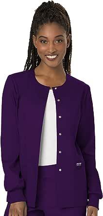 CHEROKEE WW Revolution Women's Snap Front Warm-up Jacket