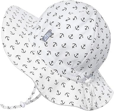 Toddler Girls Kids Jan /& Jul Baby Sun-Hat 50+ UPF Cotton Wide Brim Adjustable Chin-Strap