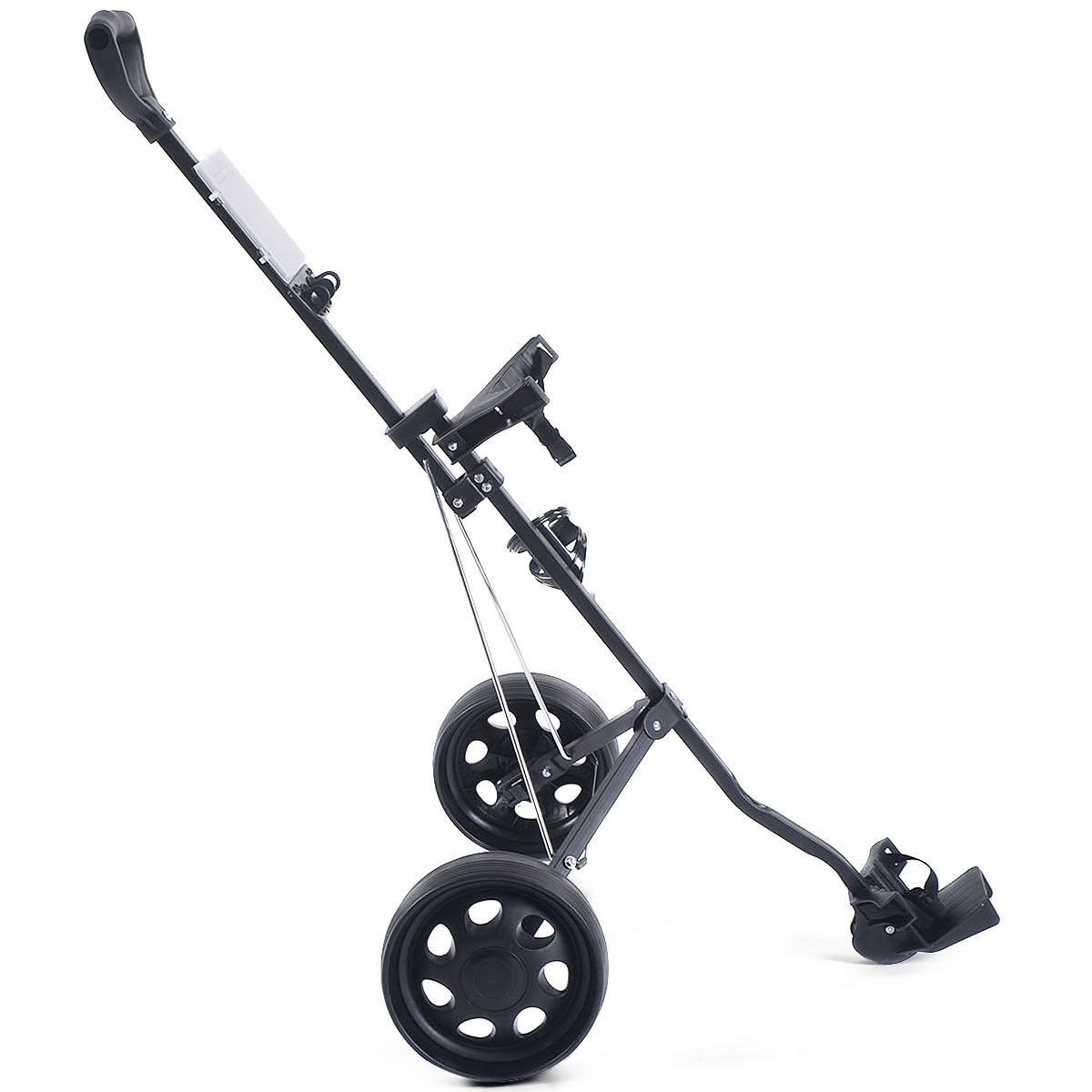 MD Group Golf Cart Holder Trolley Foldable 2 Wheels Push Pull Foldable Design Lightweight Equipment by MD Group (Image #5)