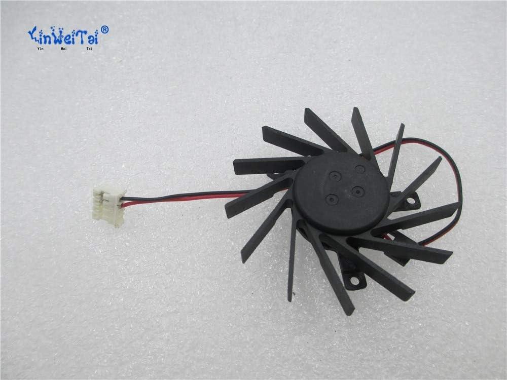 For SMY DFS601012D DC12V 4.5W 5510 5.5CM 55MM 55X55X10MM Pitch 35 35 27 mm Isosceles Y 4pin 2wire Cooling Fan