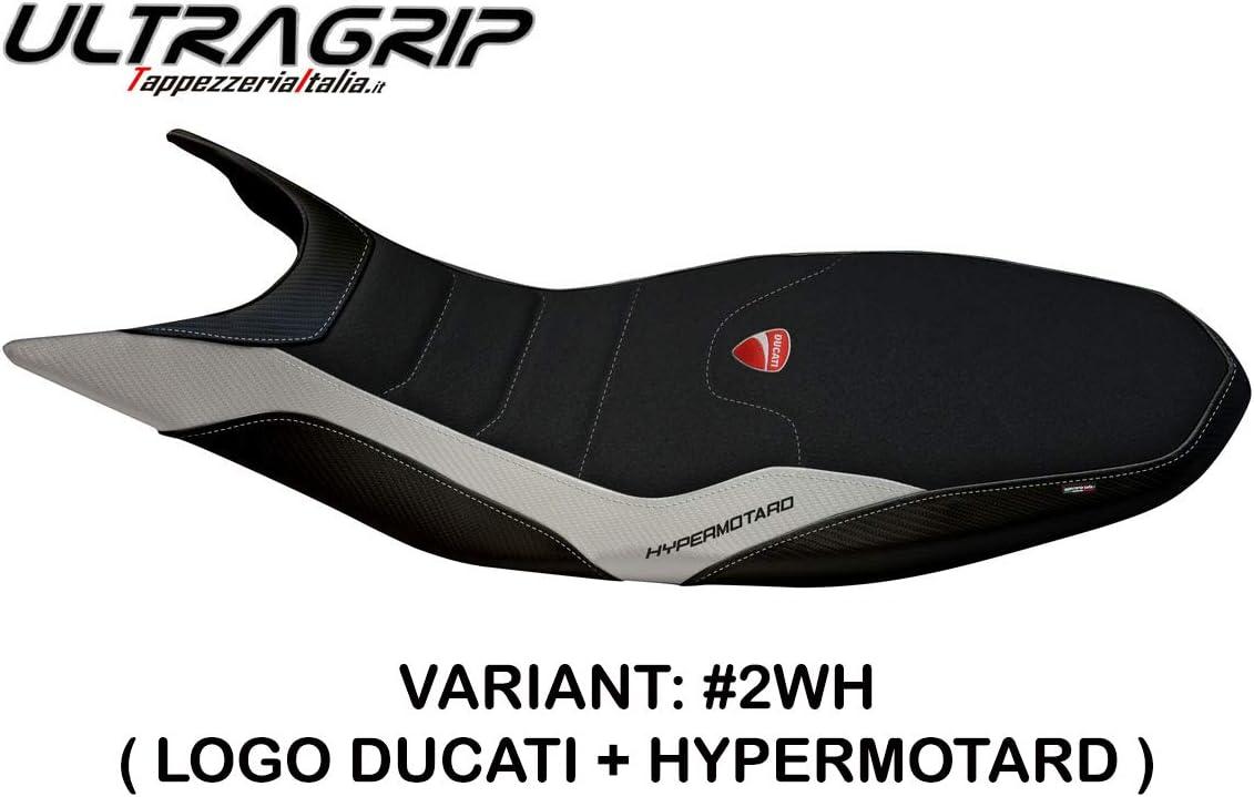 Rivestimento Sella per Ducati Hypermotard 939 821 modello MEGARA 1 ULTRAGRIP Rosso
