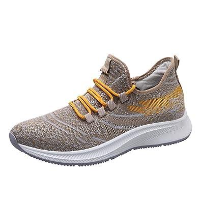 dac9db235206 Chaussures d'extérieur antidérapantes en Mesh Respirant pour Hommes Sneakers  de Course décontractées Sauvages Basket