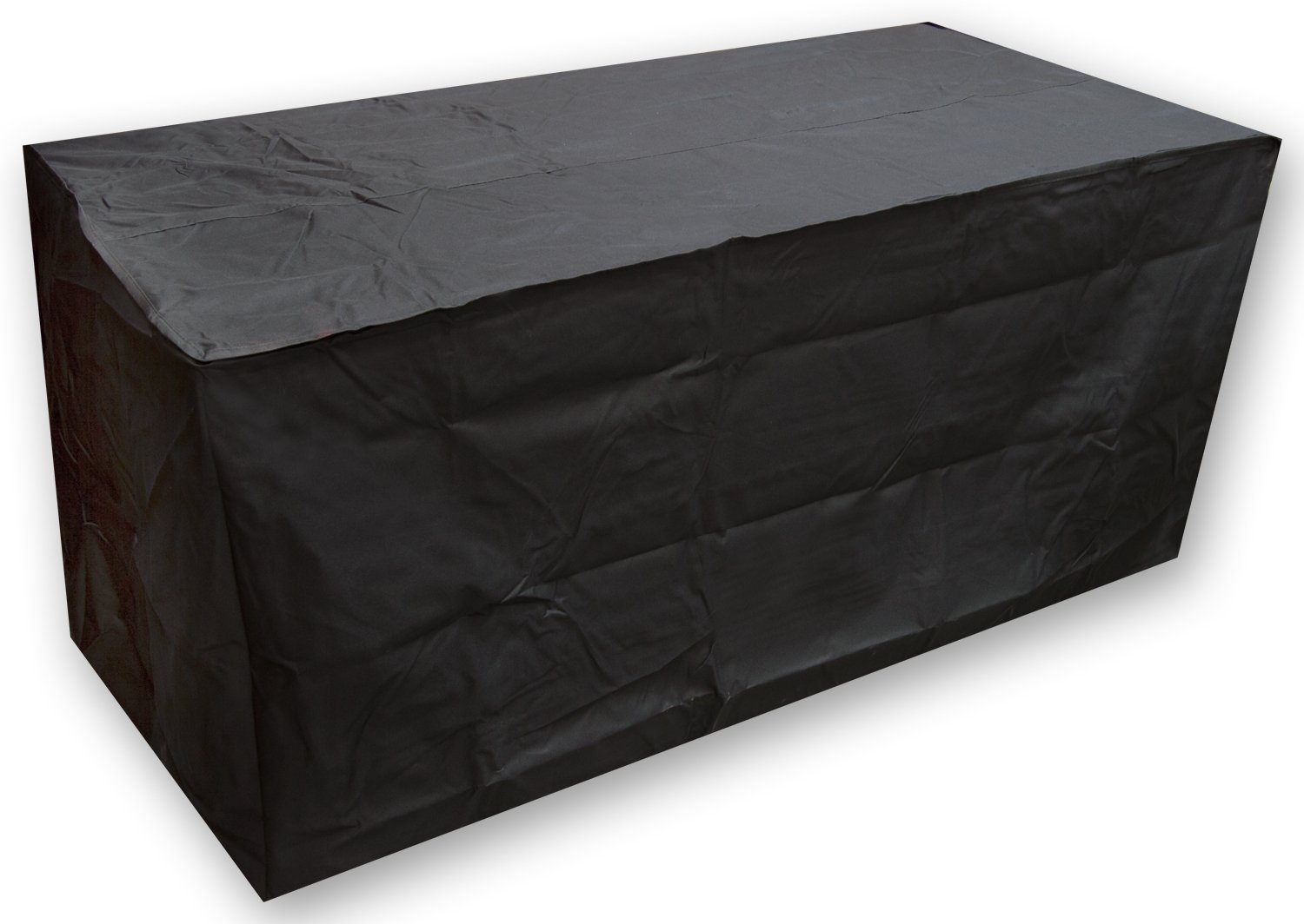 Elevavie Table Cover Waterproof Outdoor Garden Furniture Protective Cover Black Heavy Duty (123x123x74cm/48.43x48.43x29.13inch)